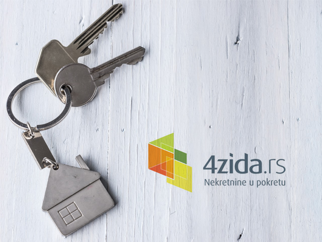 We enter the real estate area by purchasing the  4zida.rs website.